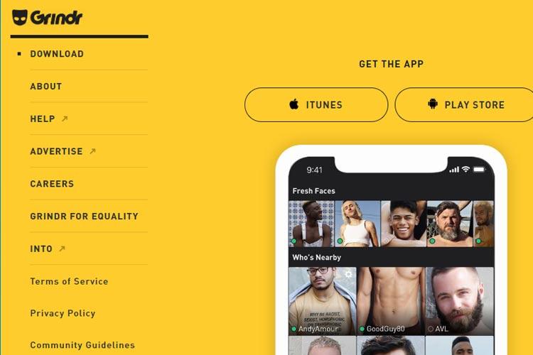 gay sesso Grindr Dating modello di profilo femminile